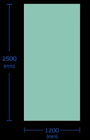 Πλάκα και διαστάσεις σύνθετων πάνελ με γυψοσανίδα και γραφιτούχα διογκωμένη πολυστερίνη STYROPAN GRAPHITE EPS
